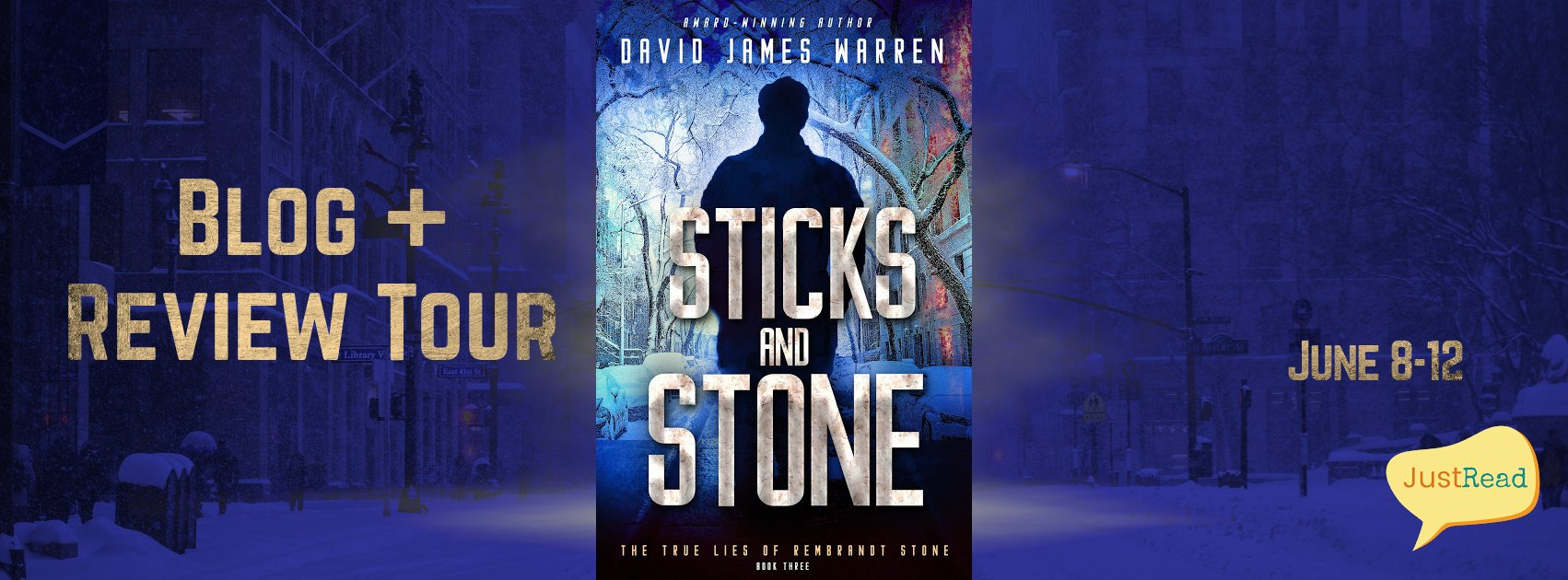 Sticks and Stone JustRead Blog + Review Tour