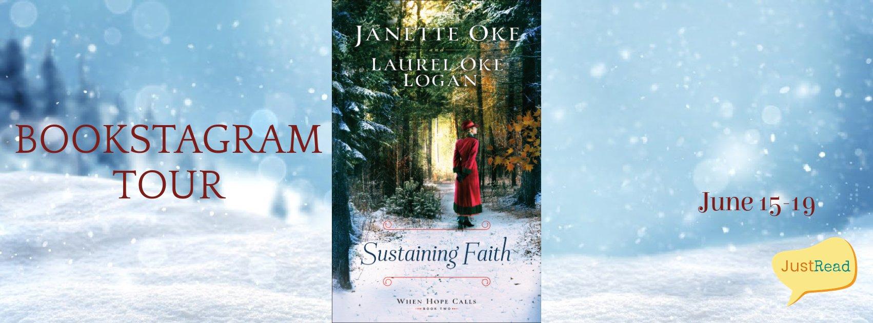 Sustaining Faith JustRead Bookstagram Tour