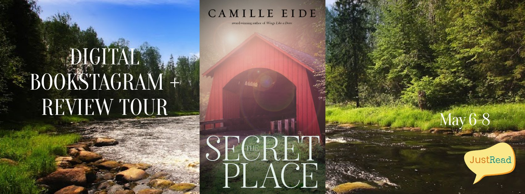 The Secret Place JustRead Digital Bookstagram + Review Tour
