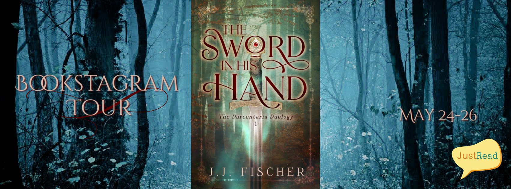 The Sword in His Hand JustRead Bookstagram Tour