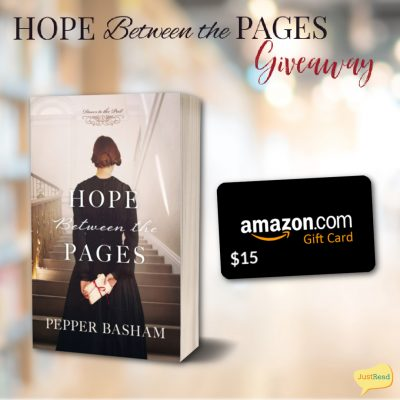 Hope Between the Pages JustRead Giveaway
