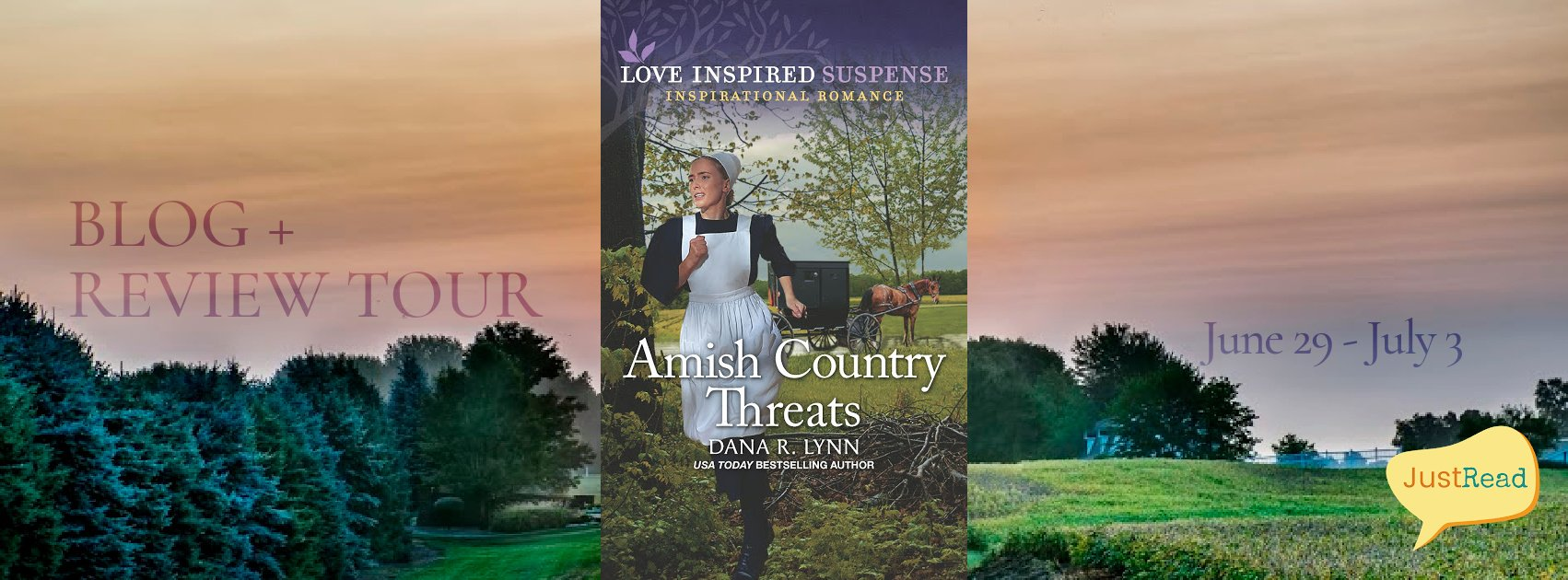 Amish Country Threats JustRead Blog + Review Tour