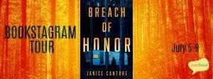 Breach of Honor JustRead Bookstagram Tour