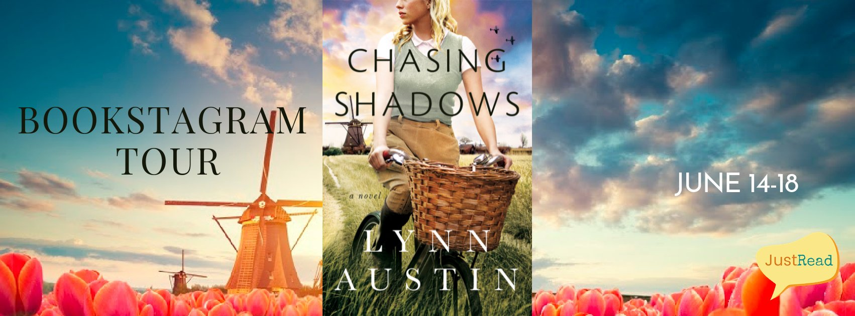 Chasing Shadows JustRead Bookstagram Tour