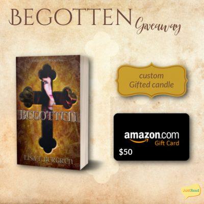 Begotten JustRead giveaway