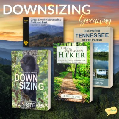 Downsizing JustRead Giveaway
