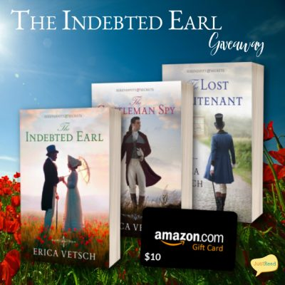 The Indebted Earl JustRead Giveaway