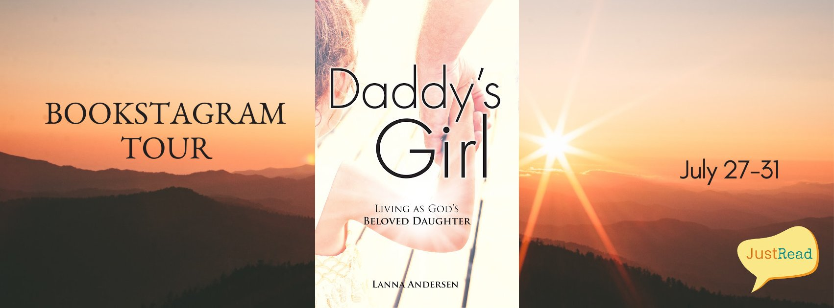 Daddy's Girl JustRead Bookstagram Tour