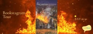 Lethal Cover-Up JustRead Bookstagram Tour