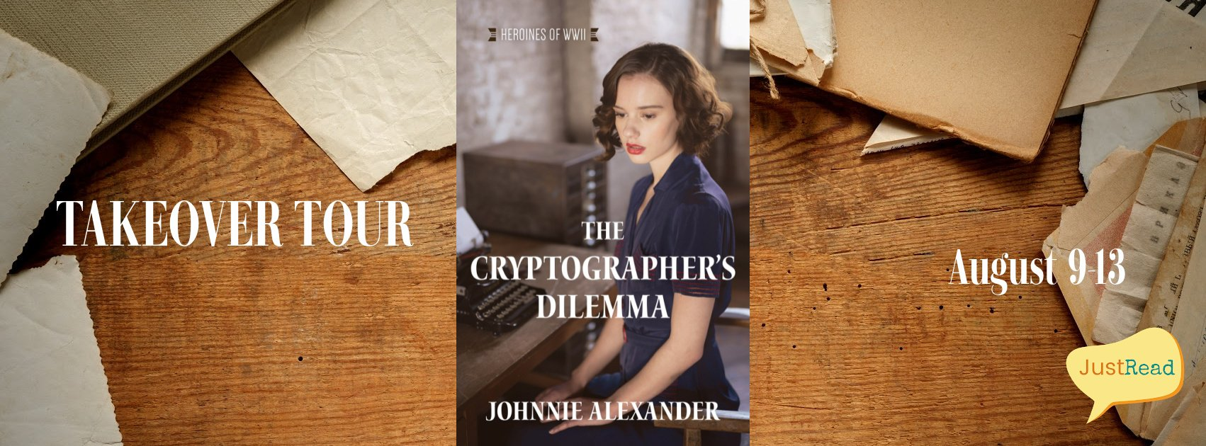 The Cryptographer's Dilemma JustRead Takeover Tour