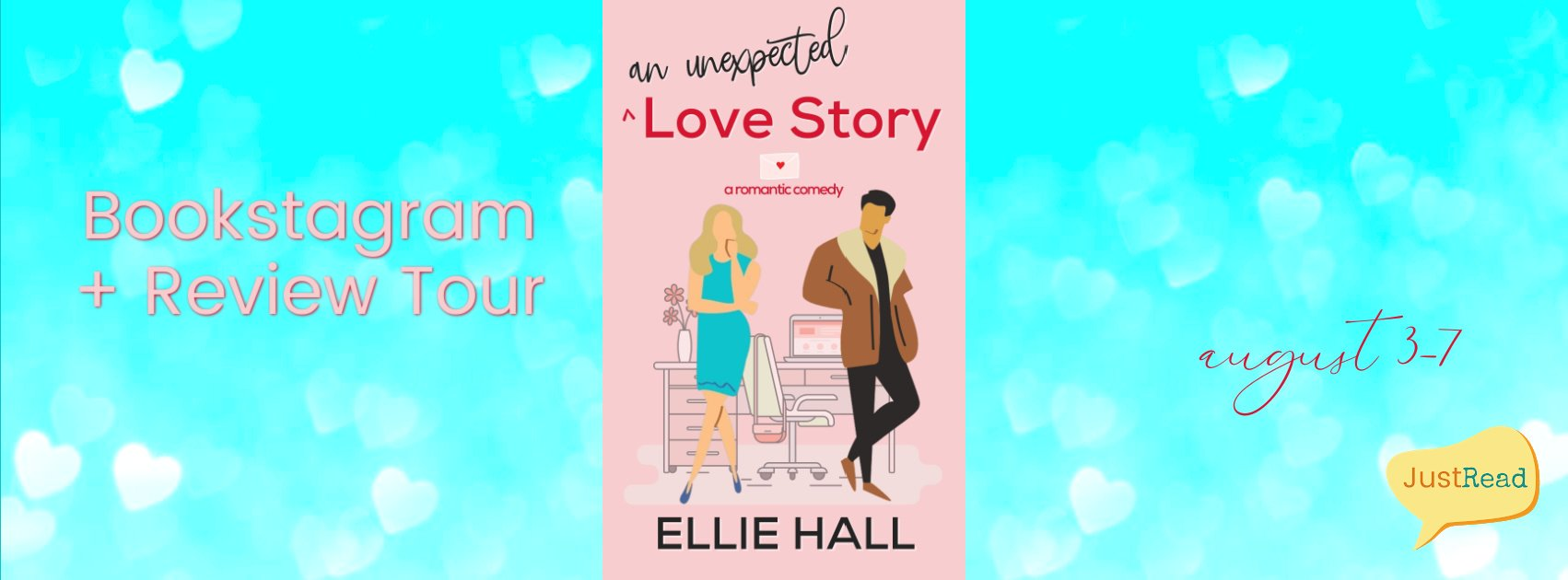 An Unexpected Love Story JustRead Bookstagram + Review Tour