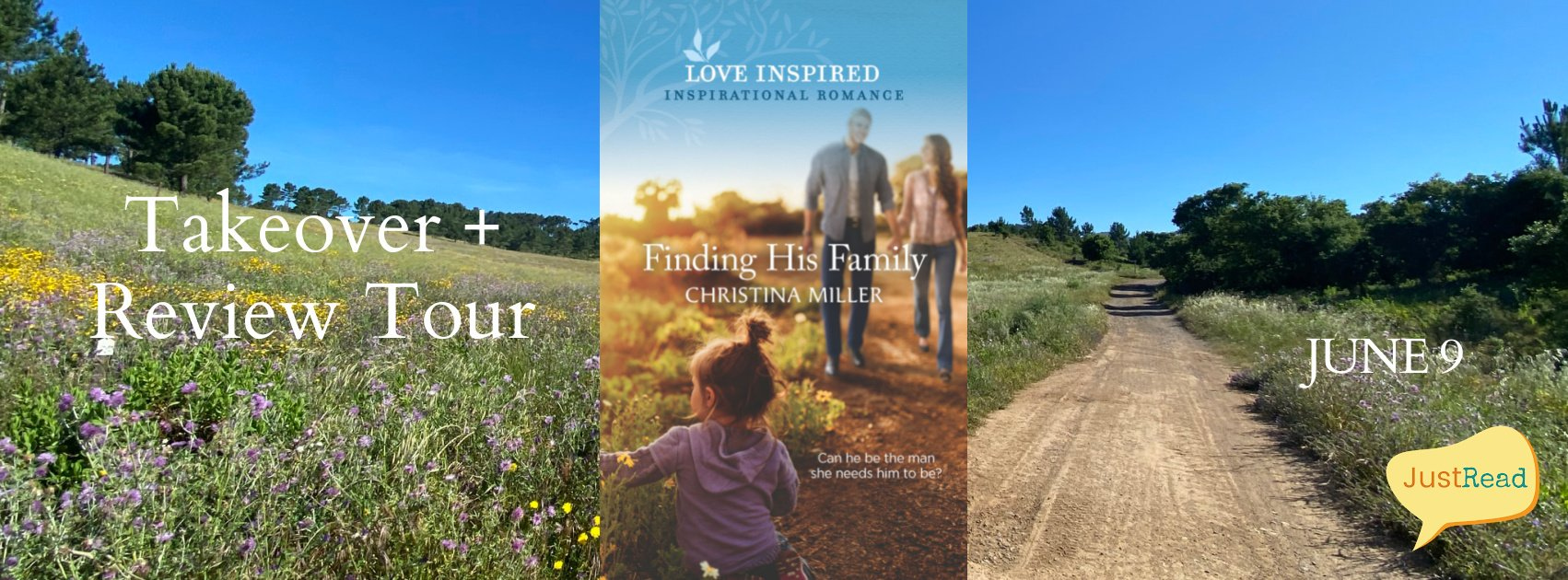 Finding His Family JustRead Takeover Tour