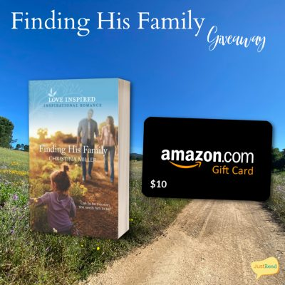 Finding His Family JustRead Giveaway