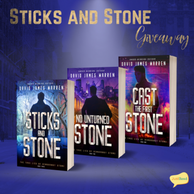 Sticks and Stone JustRead Giveaway