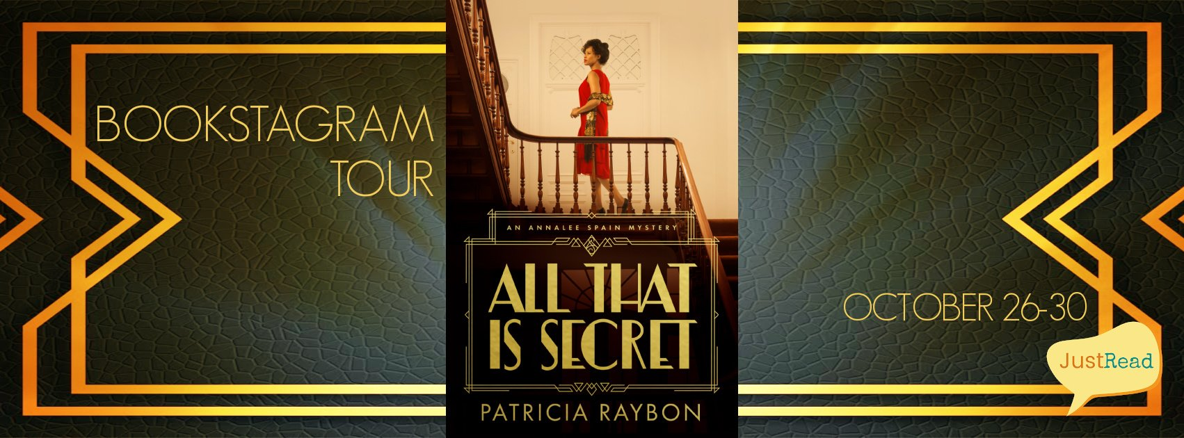 All That is Secret JustRead Bookstagram Tour