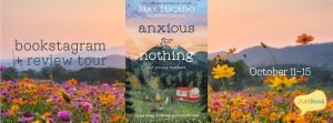 Anxious for Nothing JustRead Bookstagram + Review Tour
