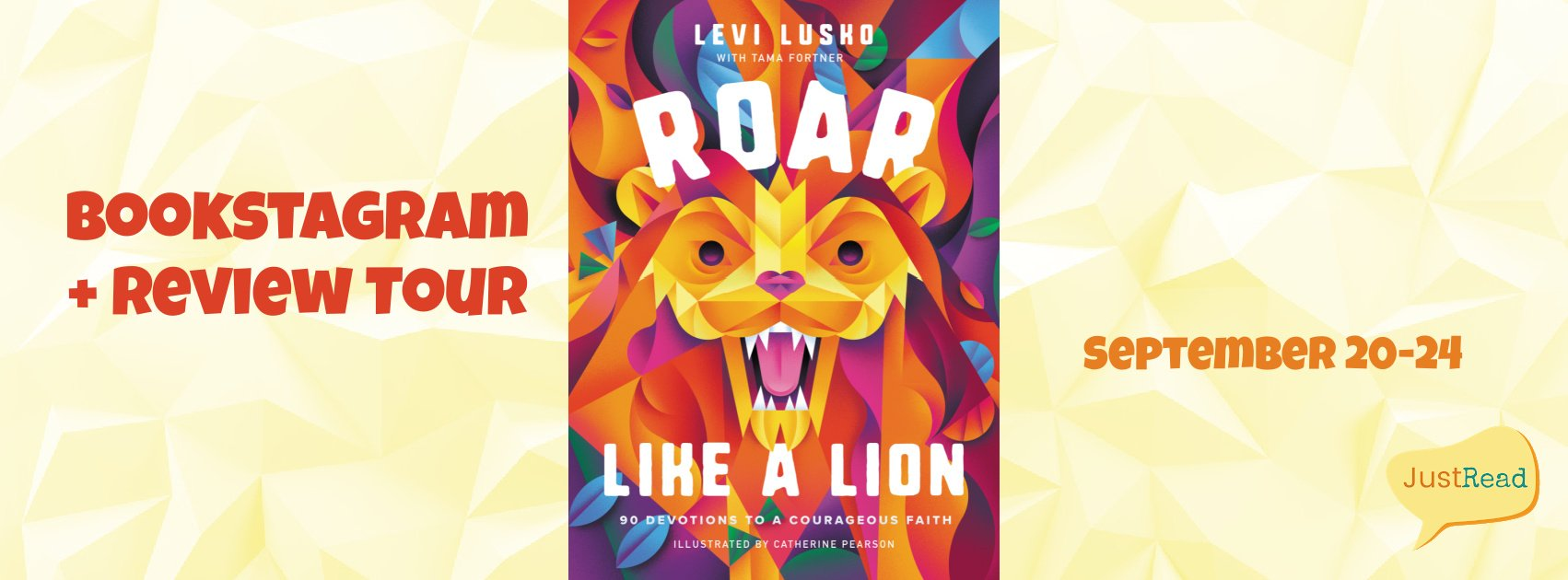 Roar Like a Lion JustRead Bookstagram + Review Tour