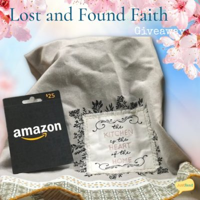 Lost and Found Faith JustRead Giveaway