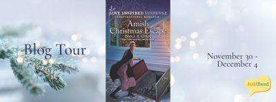 Amish Christmas Escape JustRead Blog Tour