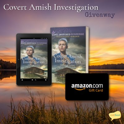 Covert Amish Investigation JustRead Giveaway