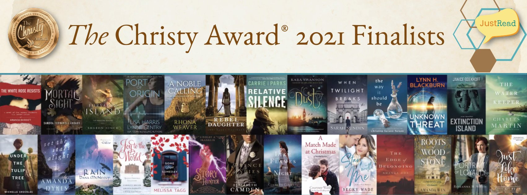 The Christy Award 2021 Finalists on JustRead