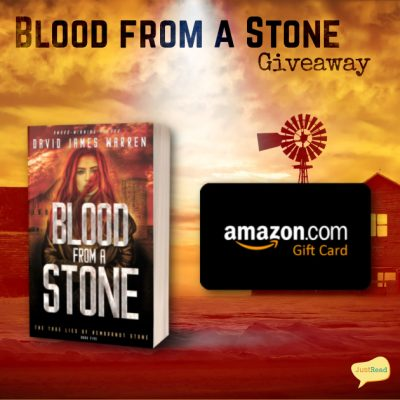 Blood from a Stone JustRead Giveaway