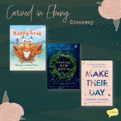 Carved in Ebony JustRead Giveaway