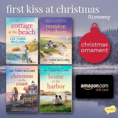 First Kiss at Christmas JustRead Giveaway